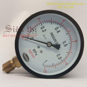 Đồng hồ áp suất máy giặt khô công nghiệp