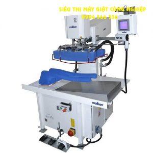 Máy là phần bên ngoài tay áo tích hợp hệ thống nén khí tuyến tính MalKan UPP28KIS2