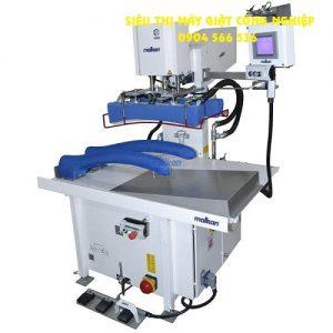 Máy là phần bên trong tay áo, tích hợp hệ thống nén khí tuyến tính MalKan UPP28KIS1