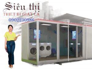 Hệ thống giặt là công nghiệp cho thuê