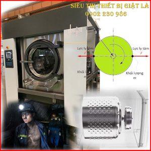 Máy Giặt Vắt Quần Áo Năng Suất Giặt ≥ 45kg/mẻ Dùng Cho Mỏ